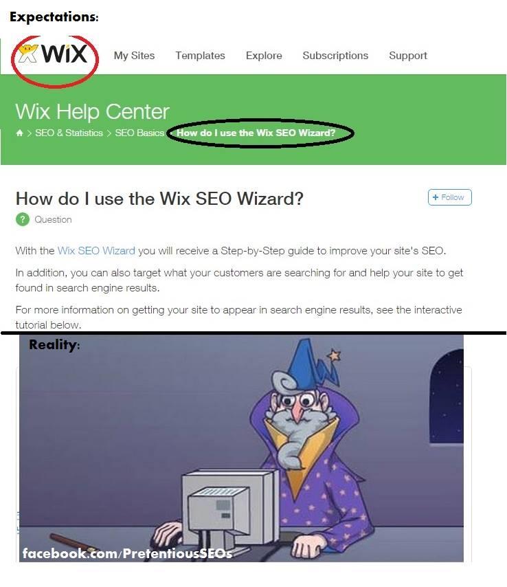 איך לקדם אתרי wix?